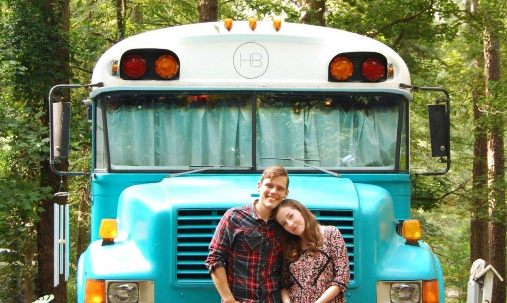 perierga.gr - Μετέτρεψαν σχολικό λεωφορείο σε λειτουργικό σπίτι!
