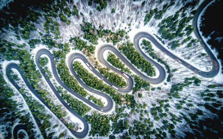 Perierga.gr - Εκπληκτικοί δρόμοι από ψηλά