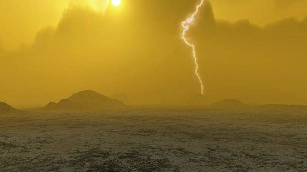 venus-earth-universe-outer space-atmosphere-carbon dioxide- co2-sulfur-water