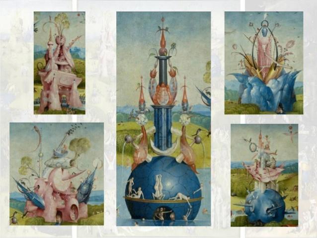 jardin de las delicias-el bosco-hieronymus bosch - jheronimus bosch - jardin del eden - paraiso- biblia - fuente