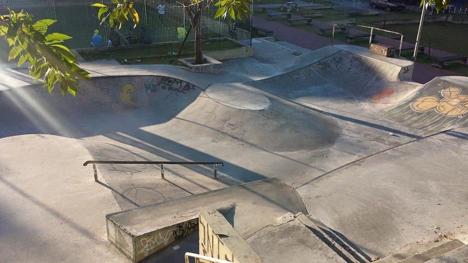 0e35b68965c08e 1º Campeonato Skate Progresso  domingo de manobras em parque no Lago Azul