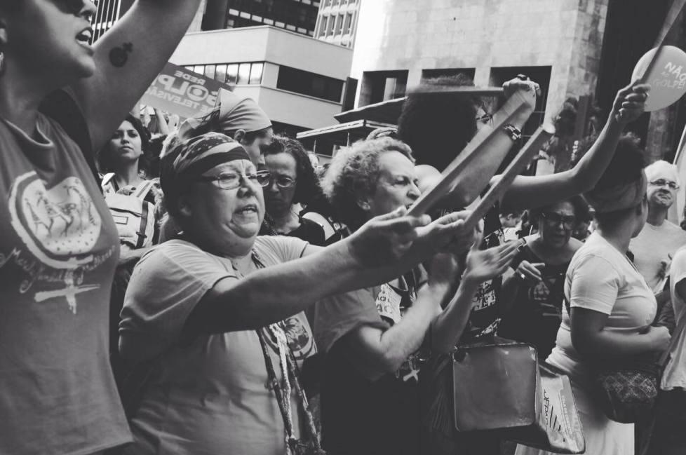 No dia 18 de março, as periferias foram às ruas pela democracia. Foto: Reprodução.
