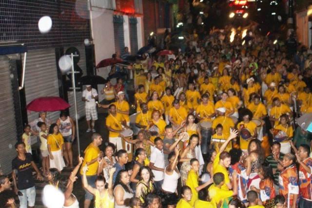 Bloco desfila sempre na segunda de Carnaval pelo Piraporinha (Foto: Divulgação)