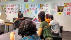 Curso Jornalismo, Cartografia e Direitos Humanos no SESC Pinheiros. Em entrevista com Vinícius Martins, Jornalista do Alma Preta.