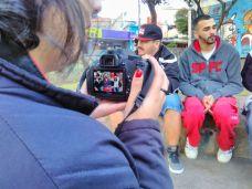 Vivência do Curso Jornalismo, Cartografia e Direitos Humanos (SESC Pinheiros)no Grajaú. Em entrevista com Grajaú Rap City.
