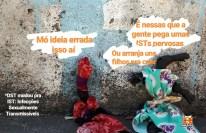 7. O termo I.S.T significa Infecções Sexualmente Transmissíveis. Saiba mais no site do Departamento de I.S.Ts, Aids e Hepatites Virais do Ministério da Saúde: http://www.aids.gov.br/pagina/sintomas-das-dst