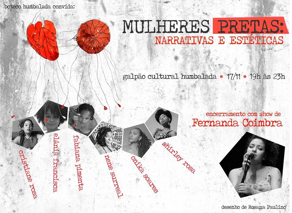 Mulheres Pretas: Narrativas e Estéticas serão compartilhadas no Galpão Cultural Humbalada