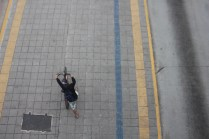 Ciclovia da Teotônio Vilela: falta conectividade com outras vias (Foto: Thiago Borges/Periferia em Movimento)