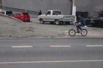 Belmira Marin: no Grajaú, não há um quilômetro de ciclovia sequer (Foto: Thiago Borges / Periferia em Movimento)