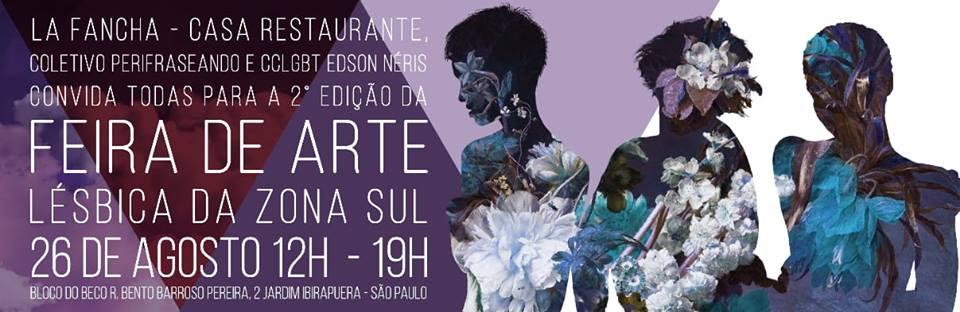 Feira reúne artistas lésbicas no Jardim Ibirapuera