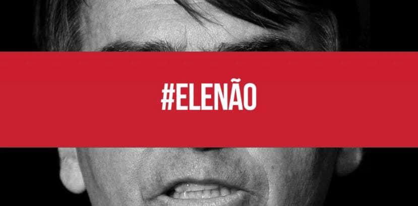 #EleNão: Se fere minha existência, serei resistência