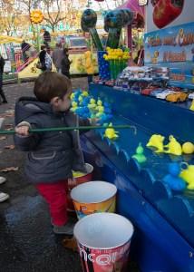La pêche aux canards
