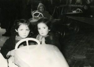 Manège à Bergerac vers 1960