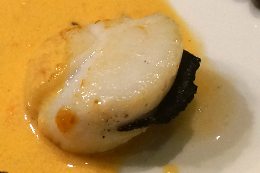 Coquille saint-jacques à la truffe