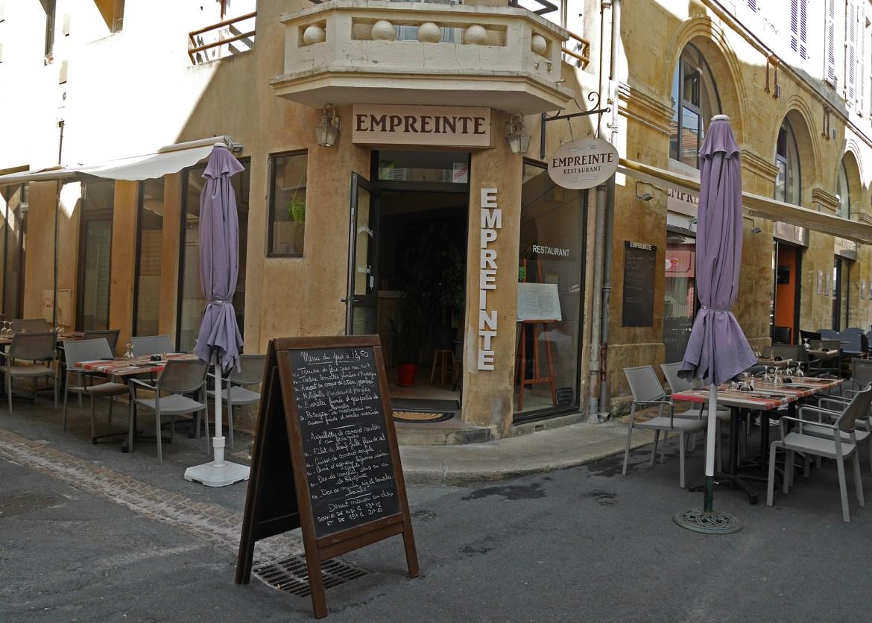 Restaurant Empreinte à Bergerac