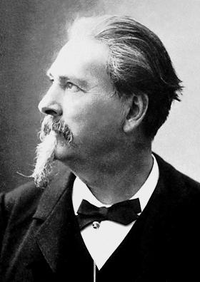ortrait de Frédéric Mistral, un des 7 fonfateurs du Félibrige - © Domaine public.