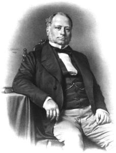 Charles-Jean-Marie-Félix, marquis de La Valette - Source=Victor Frond (dir.), ''Panthéon des illustrations françaises au XIXe siècle'', Paris, Pilon/Lemercier, 1869.