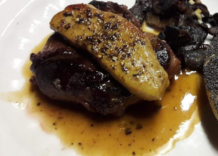 Magret de canard sauce Périgueux