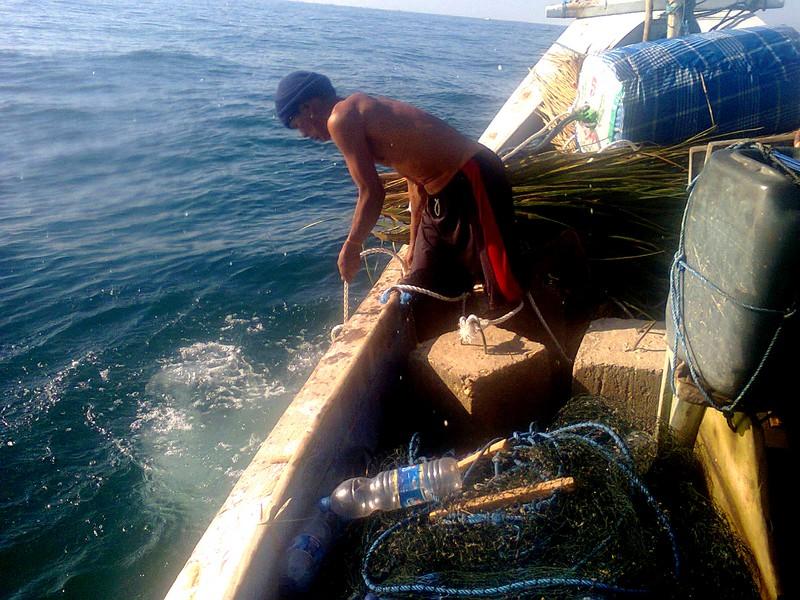 Pengadaan Alat Bantu Penangkapan Ikan Rumpon Laut Dangkal 2015