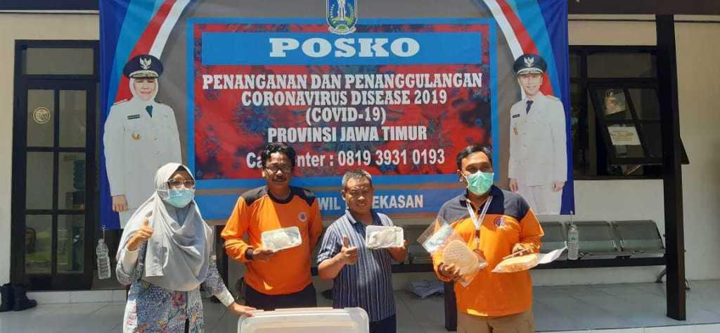 Paket Produk Perikanan untuk Tim Relawan Pencegahan COVID19