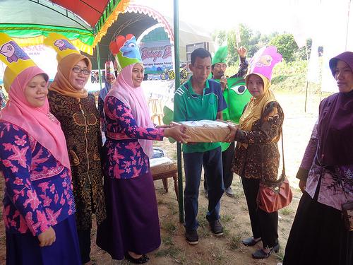 Sosialisasi Membudayakan Makan Ikan Desa Bajang Kecamatan Pakong 2016