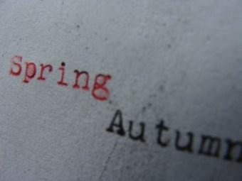 Spring:Autumn