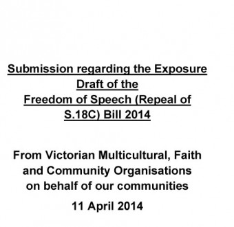Exposure draft_religious orgs