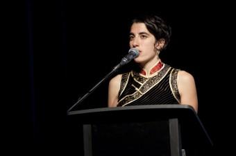 Sarah Gory, Director, Queensland Poetry Festival  Credit: Darlia Argyris