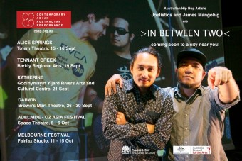 In Between Two Tour Dates poster. Credit: CAAP
