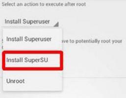 Install SuperSU
