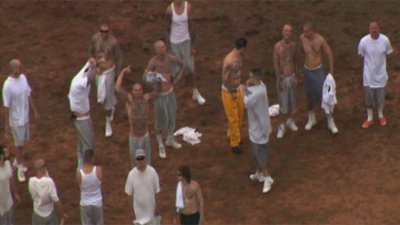 Unrest at North Fork Correctional Facility, Oklahoma