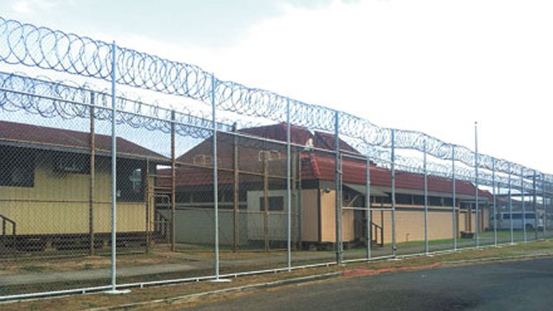 Protest at Maui Community Correctional Center, Hawaii