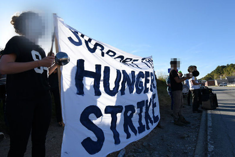 Hunger Strike at Menard Correctional Center, Illinois
