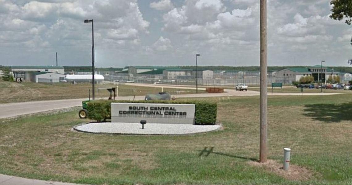 Protest at South Central Correctional Center, Missouri
