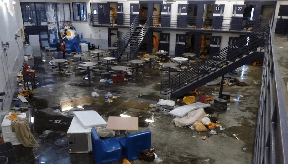Uprising at Spring Creek Correctional Center, Alaska