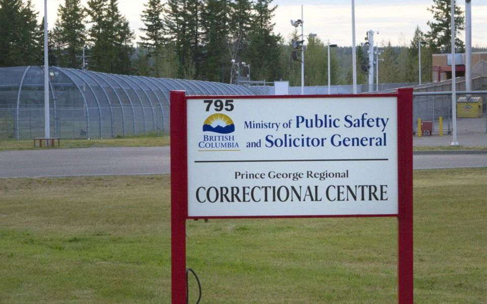 Uprising at Prince George Regional Correctional Centre, Canada