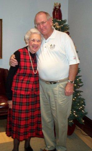 Jules Brazil and Cornelia Matthews - Christmas 2005