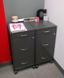 Charcoal Gray Filing Cabinets
