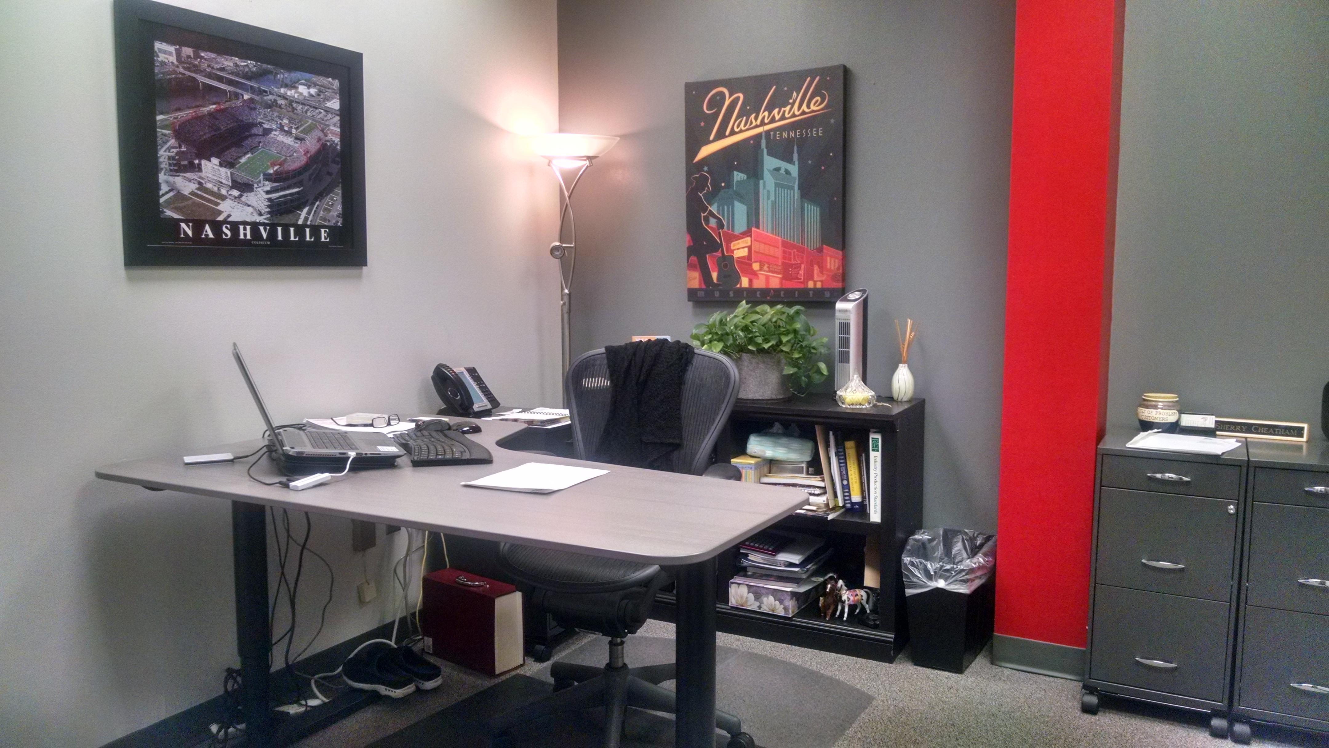 Blog Series Updating Our Nashville Office Space Post 3 General Manager Office Nashville Office Space 615 781 4200