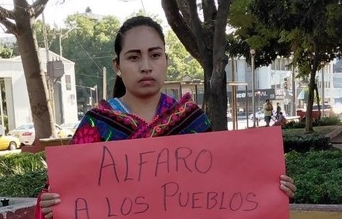 mazahua protesta