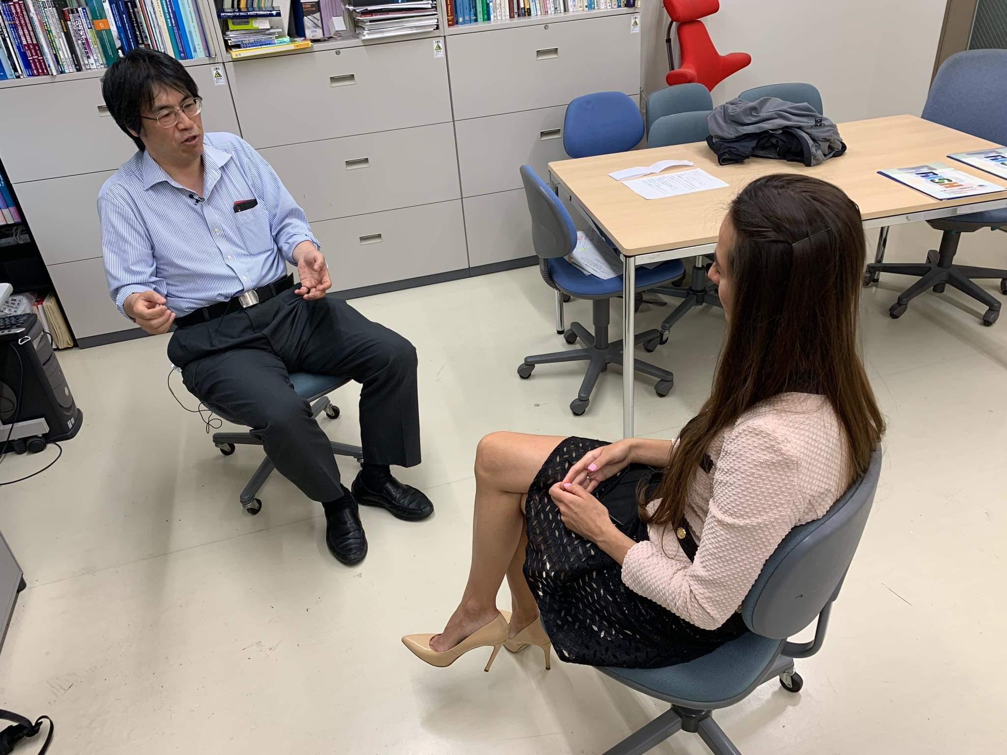 Valery Danko interviews professor Shinohara