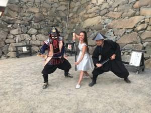 Valery Danko with the Samurai