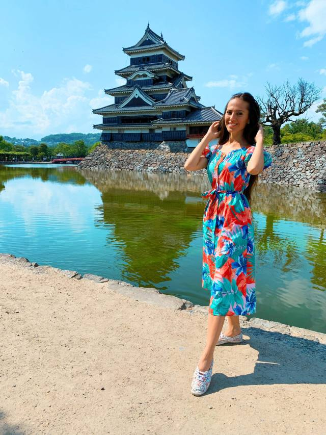 Valery Danko at Matsumoto Castle