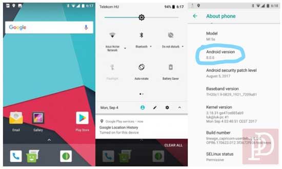 Cara Upgrade Xiaomi Mi5s dan Mi5s Plus ke Android 8.0 Oreo