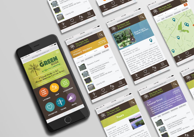 Greenbook of South Carolina Tourism Web App
