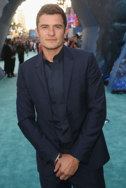 HOLLYWOOD, CA - MAY 18: Actor Orlando Bloom at the Premiere of Disneyís and Jerry Bruckheimer Filmsí ìPirates of the Caribbean: Dead Men Tell No Tales,î at the Dolby Theatre in Hollywood, CA with Johnny Depp as the one-and-only Captain Jack in a rollicking new tale of the high seas infused with the elements of fantasy, humor and action that have resulted in an international phenomenon for the past 13 years. May 18, 2017 in Hollywood, California. (Photo by Jesse Grant/Getty Images for Disney) *** Local Caption *** Orlando Bloom