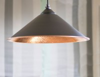 Black Hammered Copper Yardley Pendant Light - Period Home ...