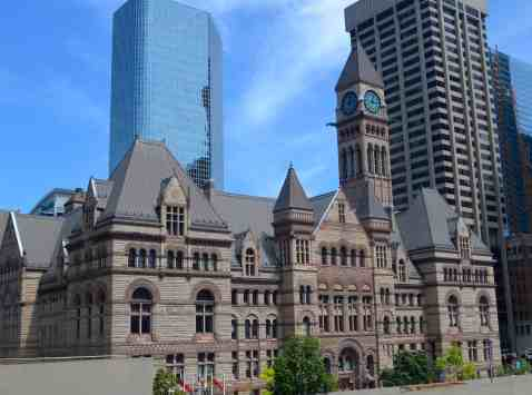 Toronto's old city hall