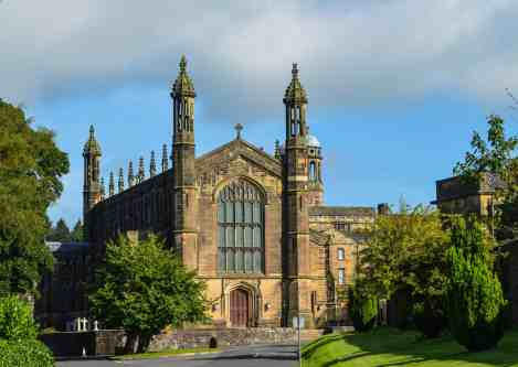 an old Stonyhurst College building