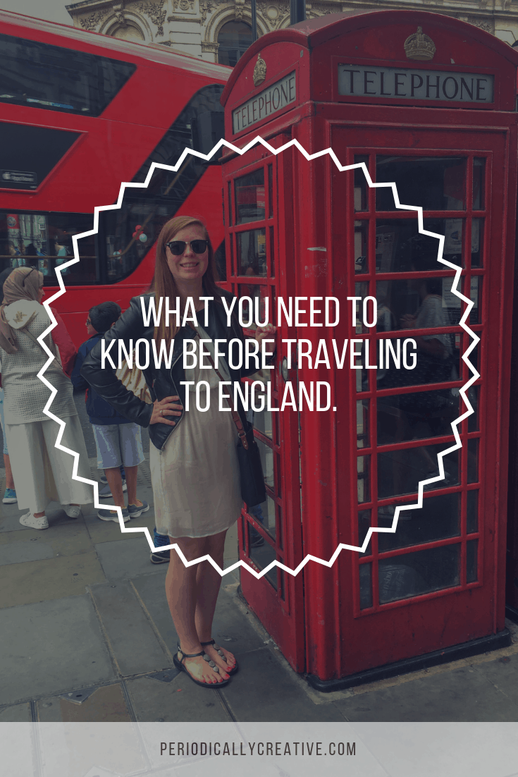 A few travel tips that we picked up during our 10 days visiting England. There are a few things you should know before you plan your trip!